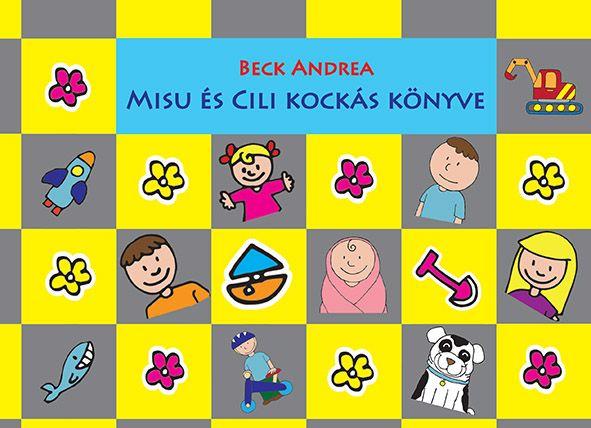 Misu és Cili kockás könyve, sárga-szürke       VTSZ4903